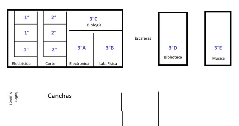 Ubicacion Escuela 105 prenormalidad